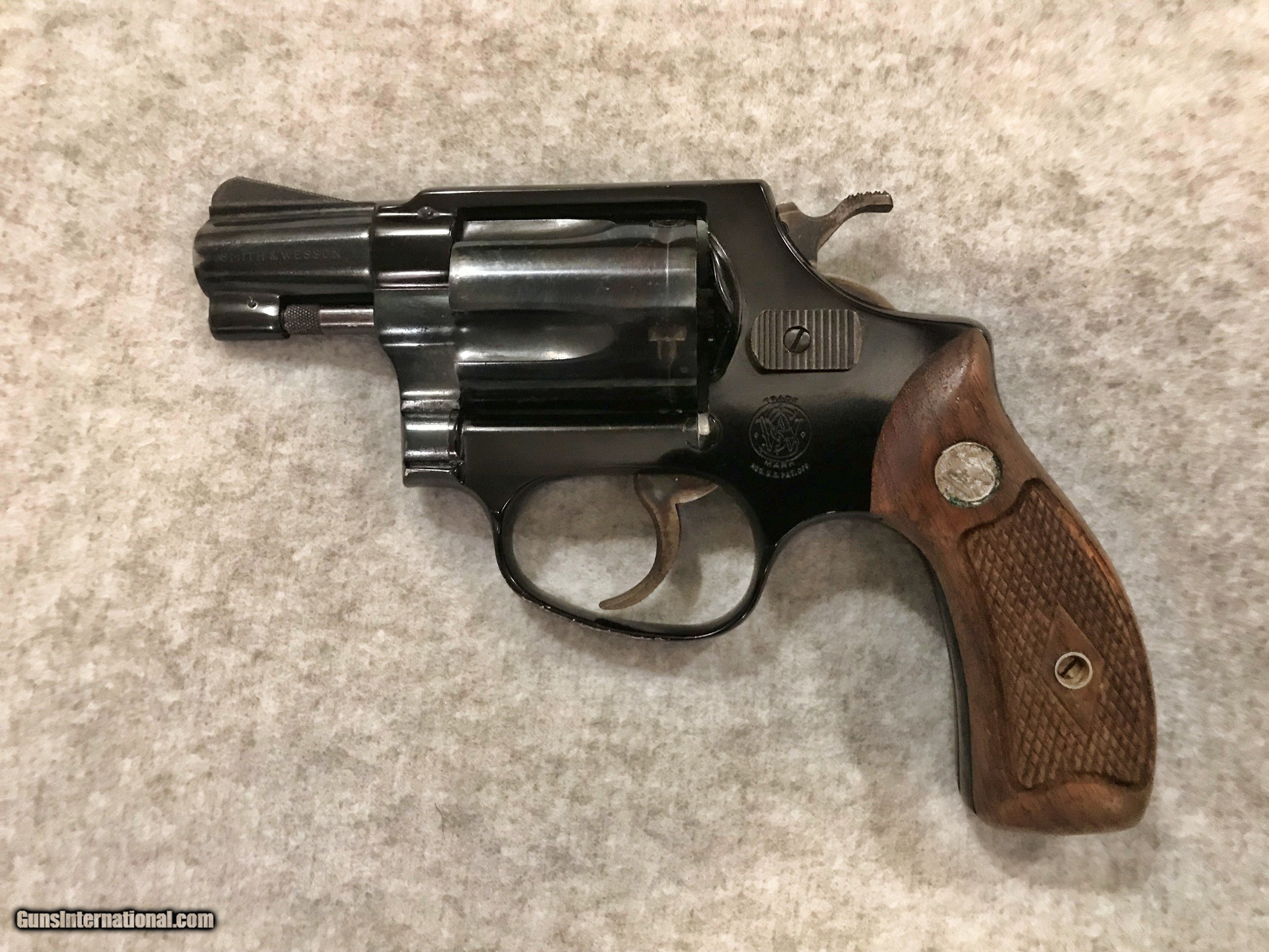 Smith Amp Wesson Model 37 Airweight 38 Spl Made 1965 Rare 3
