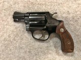 SMITH & WESSON MODEL 37 AIRWEIGHT 38 SPL MADE 1965 RARE 3 SCREW