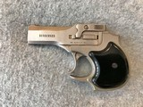 HIGH STANDARD 22 MAG DERRINGER SATIN NICKEL AND HOLSTER