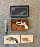 SMITH & WESSON MODEL 60 NO DASH WITH BOX, TOOLS, PAPERS - 1 of 13