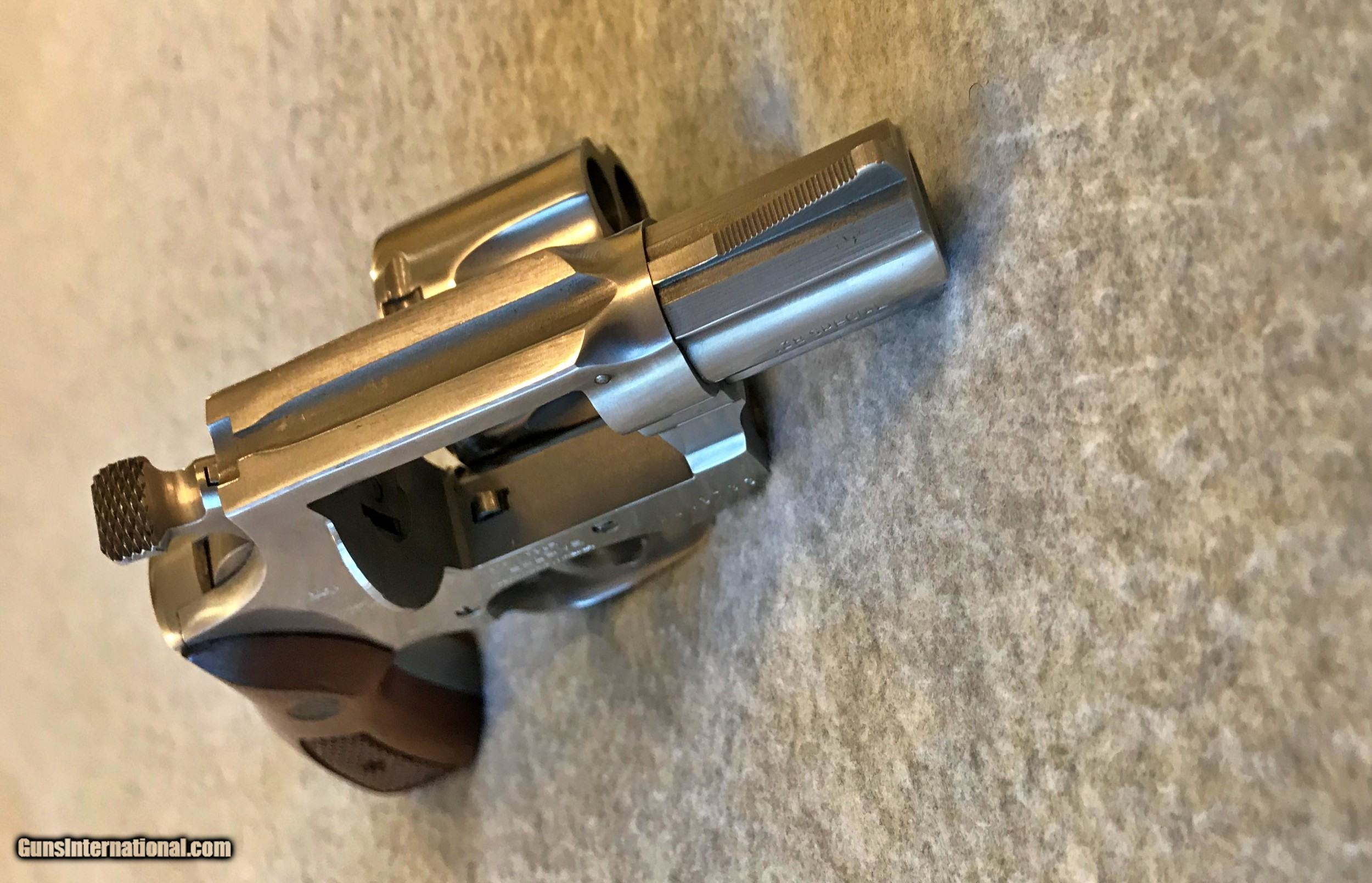 ROSSI 88-5 38 SPECIAL STAINLESS STEEL 2IN REVOLVER for sale