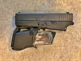 GLOCK 43 FOLDING CONCEAL 9MM PISTOL NIB JULY 3,4,5,6 SALE - 6 of 14