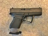 GLOCK 43 FOLDING CONCEAL 9MM PISTOL NIB JULY 3,4,5,6 SALE - 8 of 14
