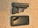 GLOCK 43 FOLDING CONCEAL 9MM PISTOL NIB JULY 3,4,5,6 SALE