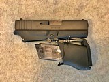 GLOCK 43 FOLDING CONCEAL 9MM PISTOL NIB JULY 3,4,5,6 SALE - 5 of 14