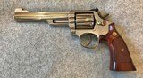 SMITH & WESSON MODEL 19-5 NICKEL 6IN 357 MAGNUM