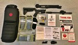 RUGER SR 556 TAKEDOWN NEW IN BOX WITH LASER/LIGHT