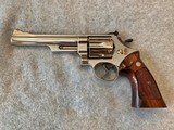 SMITH & WESSON 29-2 NICKEL 44 MAGNUM 6IN EXCELLENT - 1 of 10