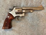 SMITH & WESSON 29-2 NICKEL 44 MAGNUM 6IN EXCELLENT - 2 of 10