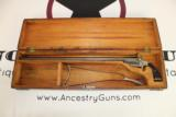 Antique Frank Wesson 1870 Pocket Rifle with Case / Scarce Matching Numbered Shoulder Stock and Case!