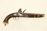 Napoleonic Wars Belgian British NAVY Flintlock Pistol / Late 1700s Early 1800s Napoleonic Wars & War of 1812