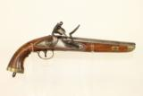 Napoleonic Wars Belgian British NAVY Flintlock Pistol Late 1700s Early 1800s Napoleonic Wars & War of 1812