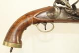 PAIR of Napoleonic Wars Belgian British NAVY Flintlock Pistols / Late 1700s Early 1800s Napoleonic Wars & War of 1812 - 16 of 25