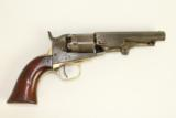Antique Colt Pocket .36 Navy Percussion Revolver Civil War c1863