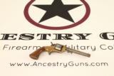 Antique E.A. Prescott Pocket Model Civil War Revolver Patent Infringement w Serial Number 18!