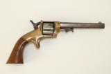Antique E.A. Prescott Pocket Model Civil War Revolver Patent Infringement w Serial Number 18! - 2 of 12