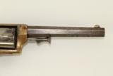 Antique E.A. Prescott Pocket Model Civil War Revolver Patent Infringement w Serial Number 18! - 5 of 12