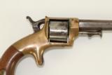 Antique E.A. Prescott Pocket Model Civil War Revolver Patent Infringement w Serial Number 18! - 4 of 12
