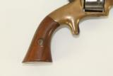 Antique E.A. Prescott Pocket Model Civil War Revolver Patent Infringement w Serial Number 18! - 3 of 12
