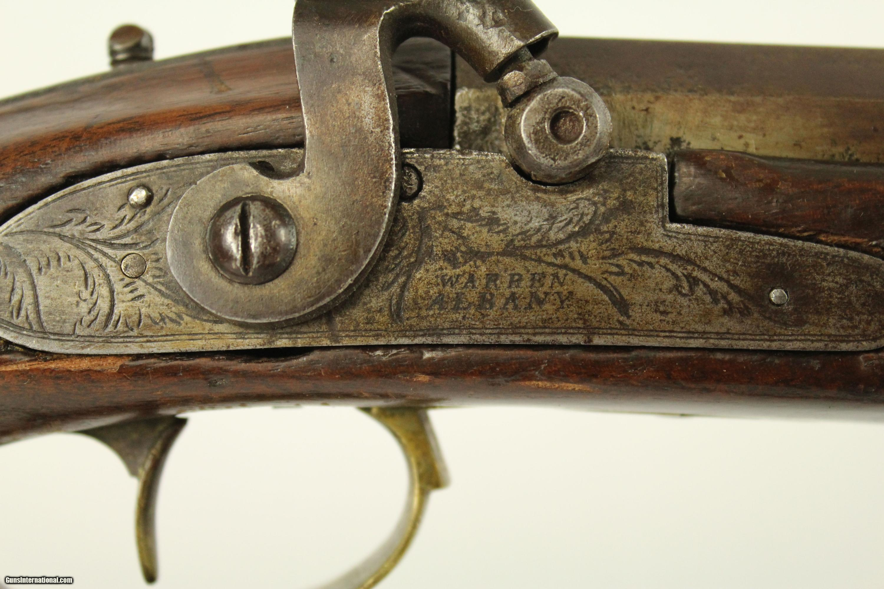 New York And Company Credit Card Payment >> Albany NEW YORK Antique Half-Stock .41 Long Rifle
