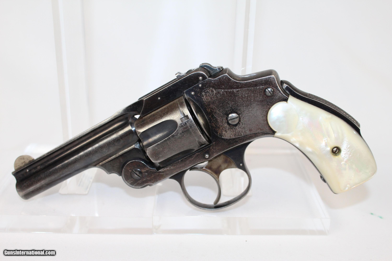 Antique S W Safety Hammerless 38 Revolver