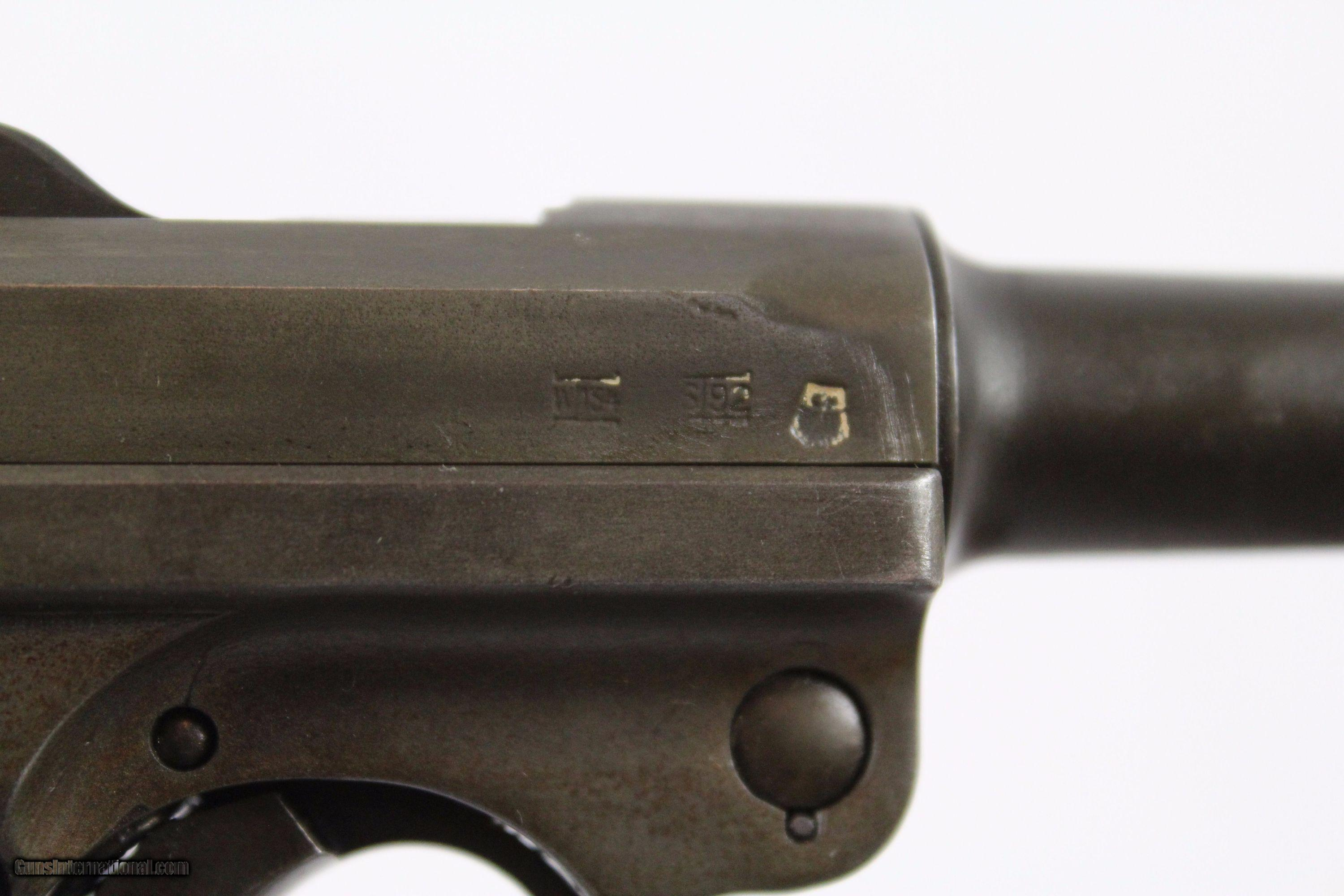 Iconic WWII German Mauser G Date S 42 LUGER Pistol
