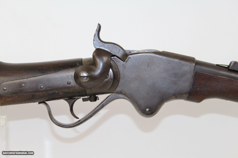 Antique BURNSIDE SPENCER Repeating Cavalry Carbine