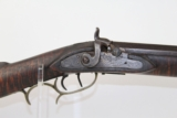 ANTIQUE Full Stock Percussion LONG RIFLE