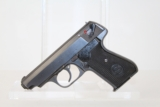 "WWII Nazi POLICE ""Eagle/C"" Marked Sauer 38H Pistol"