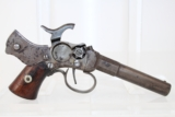 VERY RARE Antique MASS. ARMS Single Shot Pistol