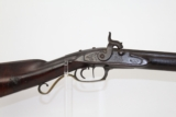 "Antique OHIO ""S.L. WALKER"" Half-Stock Long Rifle"