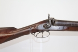 Antique Belgian Joseph Manton Side by Side Shotgun