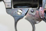 SWEDISH Military HUSQVARNA 1887 Nagant Revolver - 15 of 16