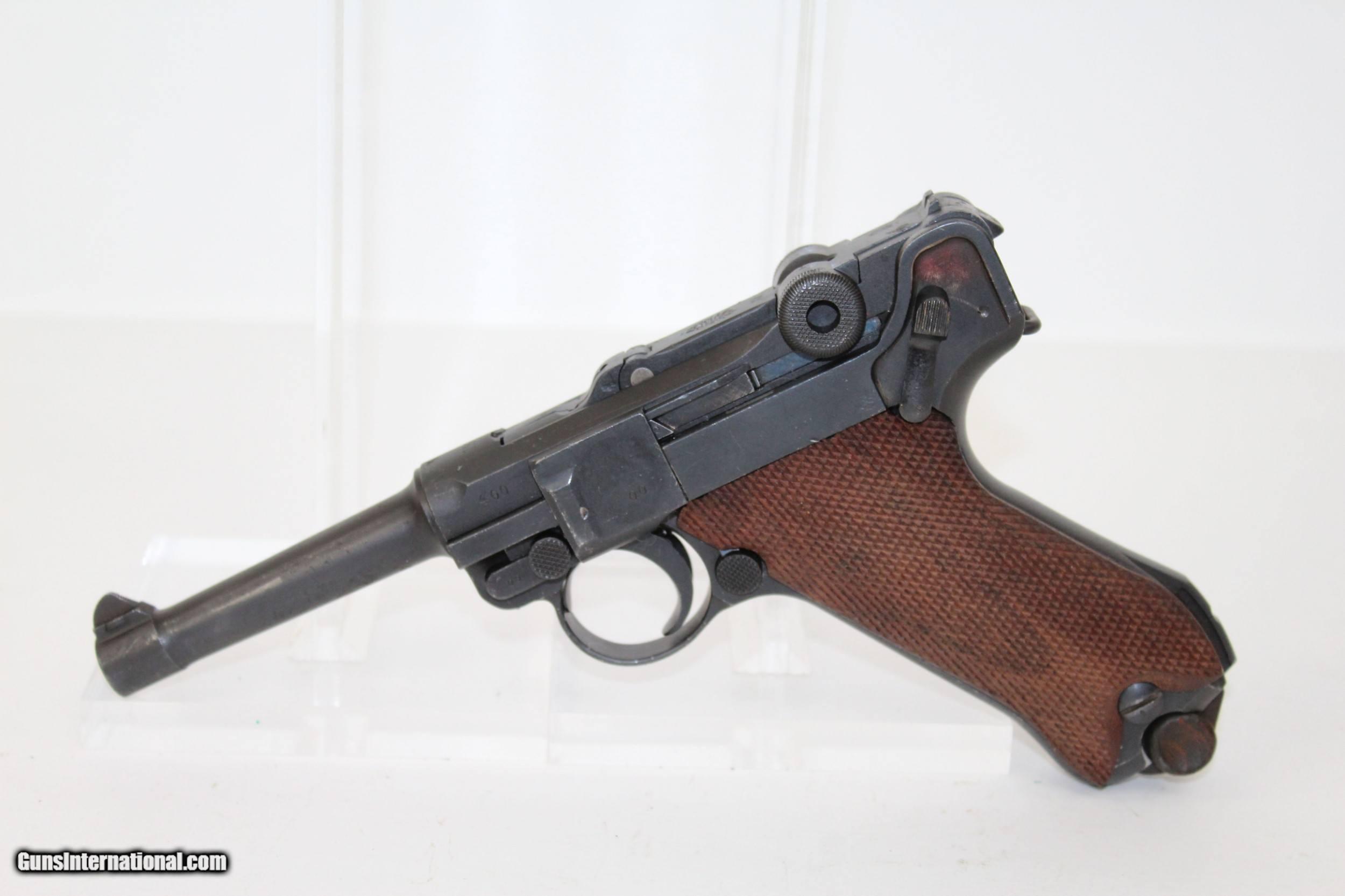Luger pistols sale german for WW2 Guns