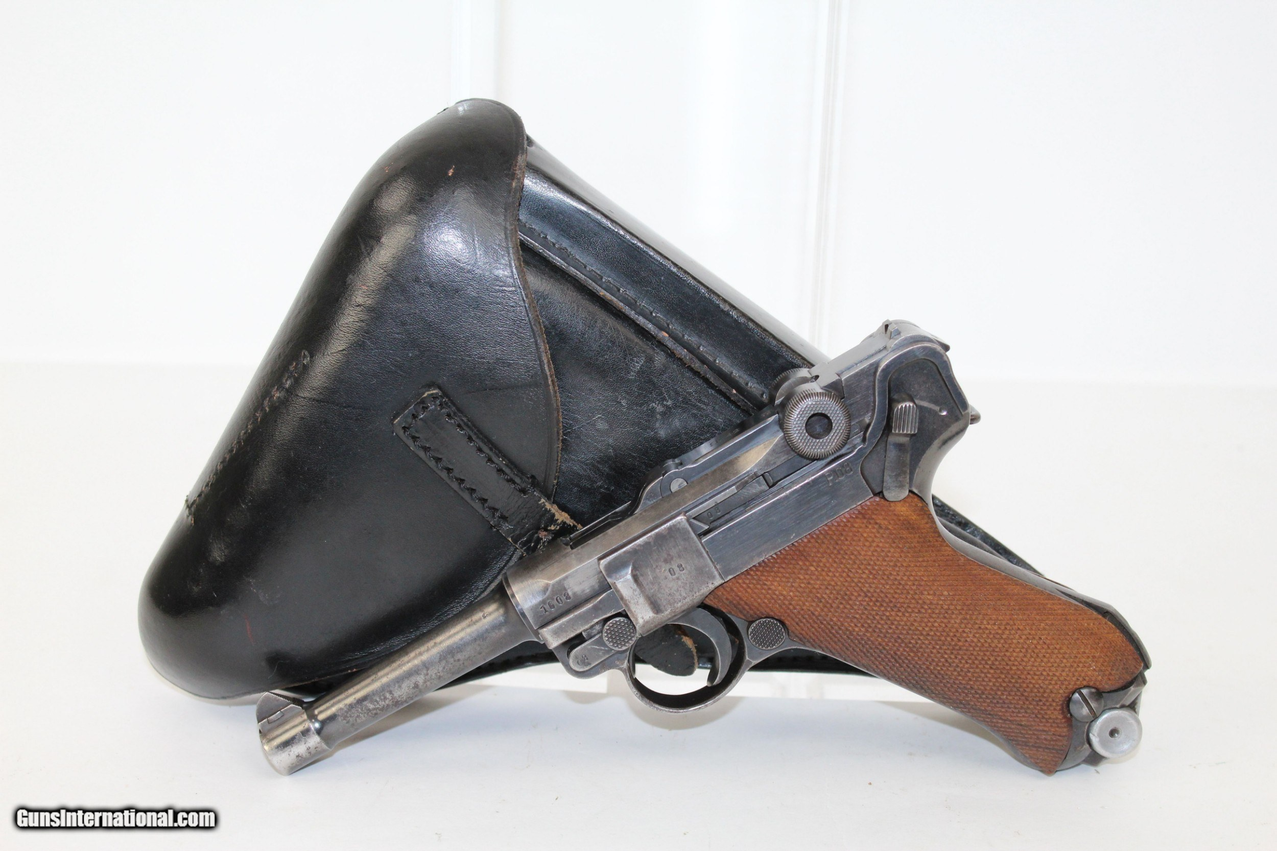 """19]41"""" Dated WWII MAUSER S/42 Code Luger Pistol for sale"""