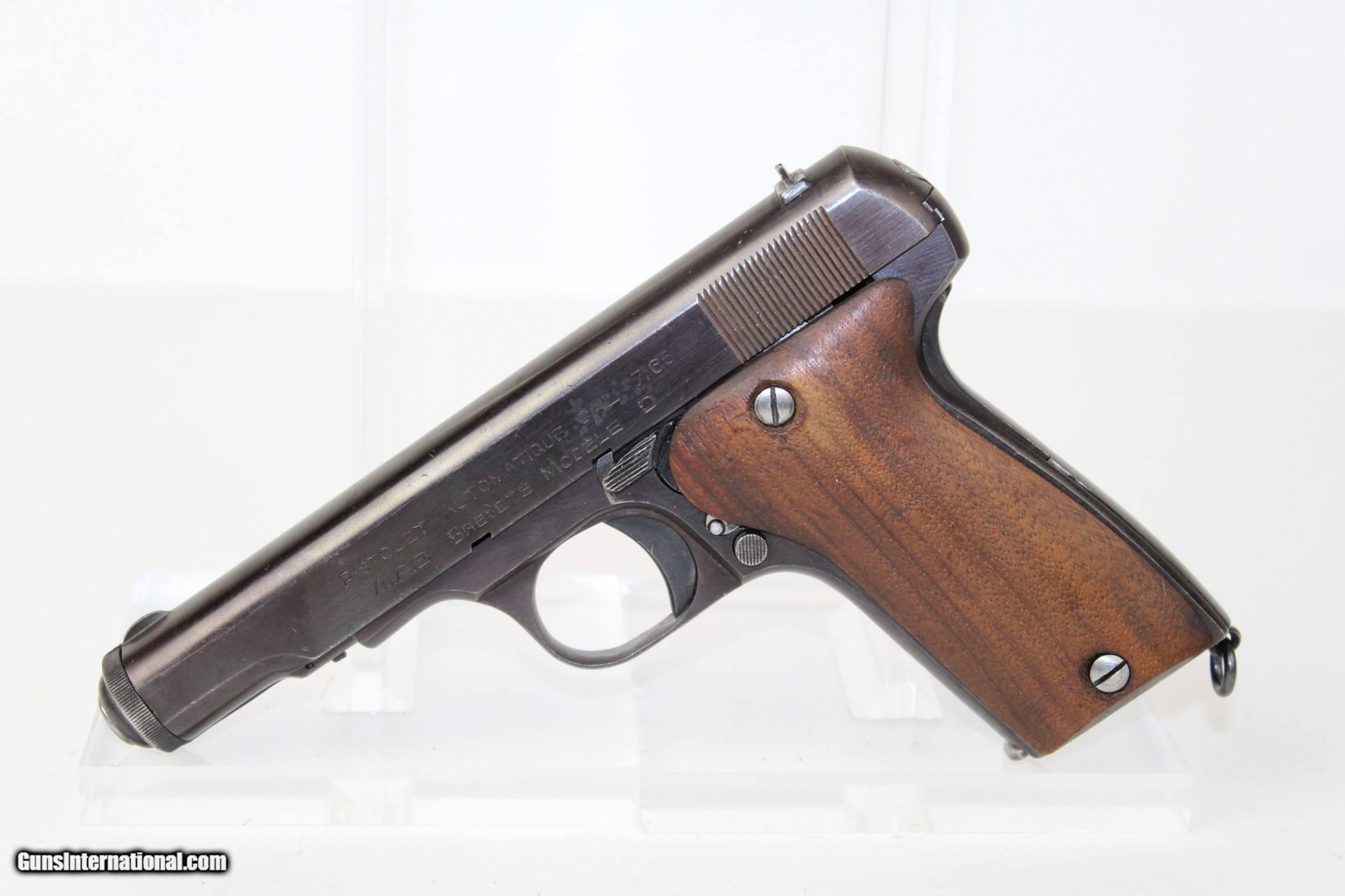 WWII NAZI German Marked MAB Mod  D Wermacht Pistol