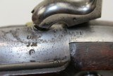 Antique WATERS U.S. Model 1816 Percussion MUSKET - 10 of 19