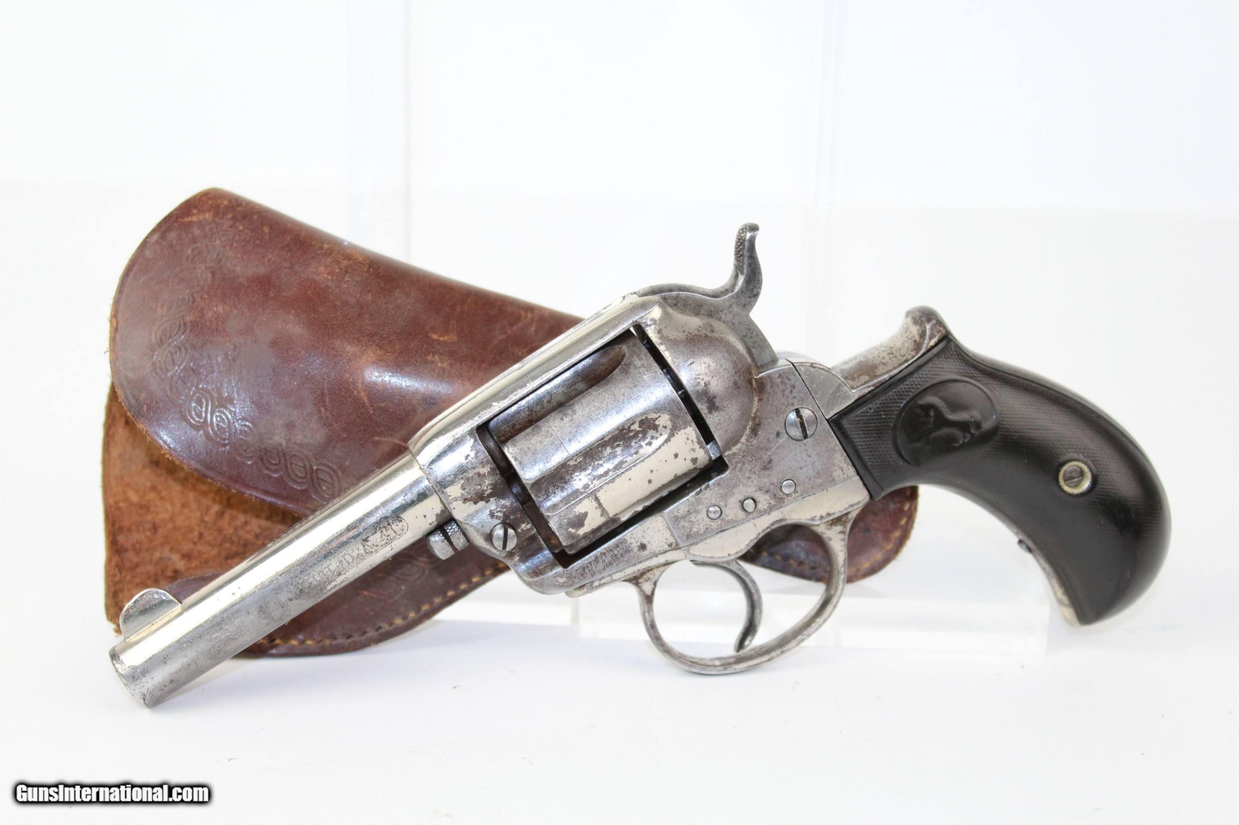 Antique COLT THUNDERER M1877 Revolver Made 1882