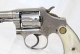 "SCARCE & FINE Nickel S&W ""Ladysmith"" .22 Revolver - 3 of 15"