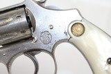 "SCARCE & FINE Nickel S&W ""Ladysmith"" .22 Revolver - 6 of 15"