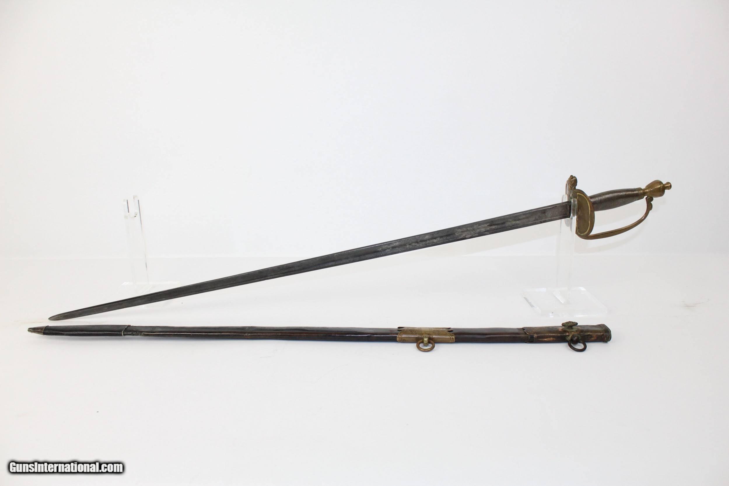 Foreign Made ANTIQUE Model 1840 NCO SWORD