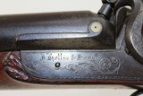 "Antique ""Isaac Hollis & Sons"" Double Barrel Shotgun - 9 of 25"