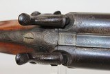 "Antique ""Isaac Hollis & Sons"" Double Barrel Shotgun - 11 of 25"