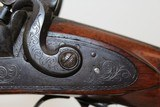 "Antique ""Isaac Hollis & Sons"" Double Barrel Shotgun - 8 of 25"