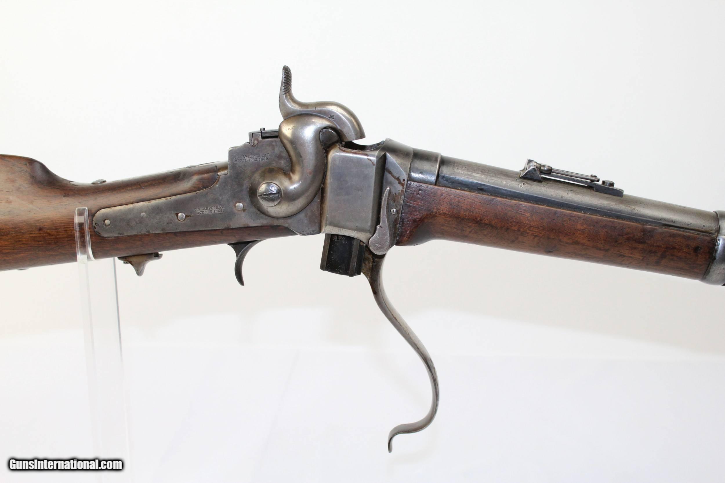 CIVIL WAR Antique SHARPS New Model 1863 CARBINE