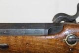 19th Century BELGIAN Antique SINGLE SHOT Pistol - 11 of 15