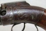 RARE Antique SPRAGUE & MARSTON Pepperbox Revolver - 5 of 16