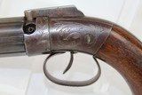 RARE Antique SPRAGUE & MARSTON Pepperbox Revolver - 3 of 16