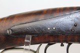 1850s NEW YORK Antique A.W. SPIES Double Rifle - 11 of 16