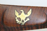 1850s NEW YORK Antique A.W. SPIES Double Rifle - 10 of 16